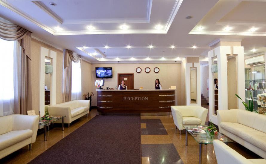 Ресепшн отеля HELIOPARK Residence