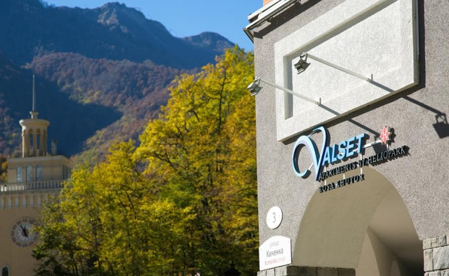 Адресс апарт-отеля Valset Apartments by HELIOPARK, Rosa Khutor