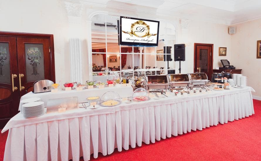 Традиционные блюда русской и европейской кухни в ресторане Давыдов