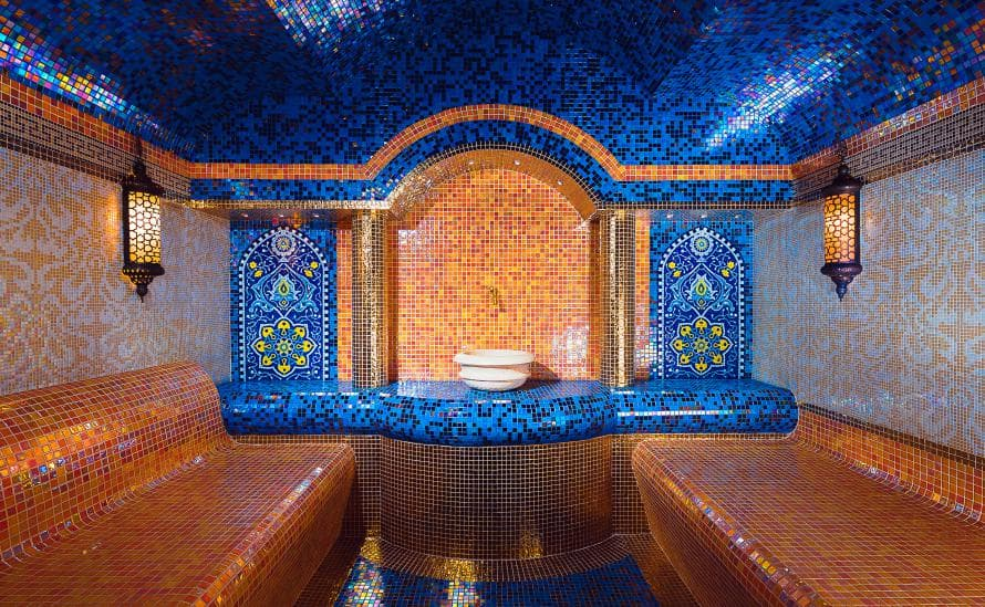 Хаммам в отеле HELIOPARK Residence